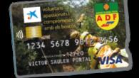 Nova targeta de crèdit VISA ADF de caixabank. La targeta que reverteix part dels seus beneficis a les ADF de cada municipi. La podeu sol.licitar a la vostra oficina, a […]