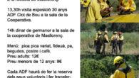 Aquest any la trobada anual dels voluntaris de les ADF del Penedès i Garraf es celebrarà al poble de Masllorenç, amb l'ADF Clot de Bou com a anfitriona i que […]