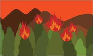 dibuix flames