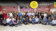 Dissabte dia 13 es va celebrar, per desè any consecutiu, el sopar dels amics/es de les ADF, amb l'assistència d'un centenar de voluntaris/es.
