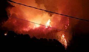 incendi de Bonastre nit de St Joan