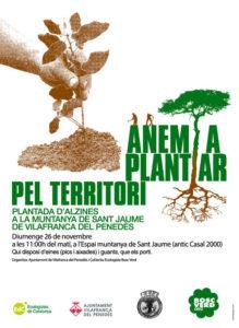 plantada Vilafranca cartell
